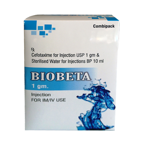 Cefotaxime For Injection Usp 1gm