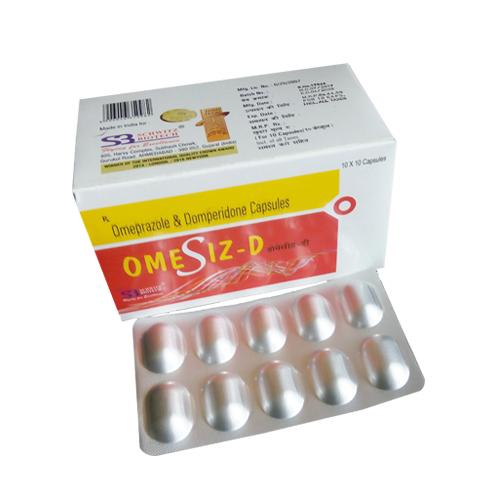 Omeprazole 20 Mg + Domperidone 10 Mg Capsule