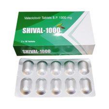 Valacyclovir 1000 Mg Tablet