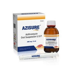 Azithromycin Oral Suspension Usp 200 Mg/5ml