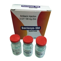 Amikacin Sulfate Injection Usp 100mg / 2ml