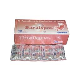 Paracetamol 500 Mg + Dicyclomine 20 Mg Tablets