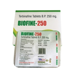 Terbinafine Tablets Bp 250 Mg
