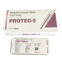 Bisoprolol Fumarate Tablets Usp 5mg