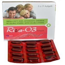 Omega 3 Fatty Acids + Antioxidants + Chromium + Fat & Water Soluble Vitamins In Soft Gel Capsules