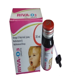 Omega 3 Fatty Acids + Lysine + Multivitamin & Multimineral Drops