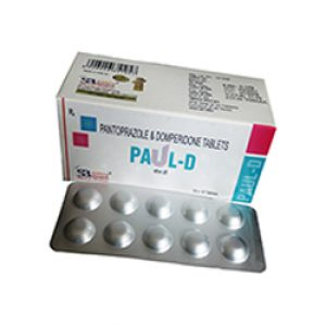 Pantoprazole 40 Mg + Domperidone 10 Mg Tablets