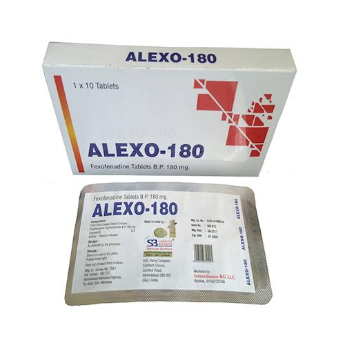 Fexofenadine Tablets Bp 180mg