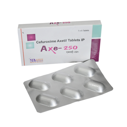 Cefuroxime Axetil 250 Mg Tablets