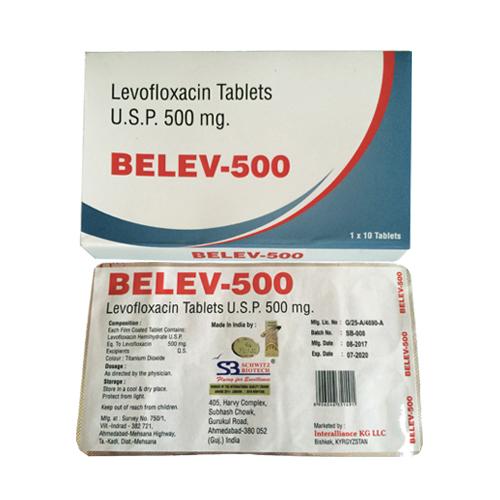 Levofloxacin Tablets Usp 500 Mg