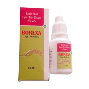 Boric Acid Eye / Ear Drops 2%