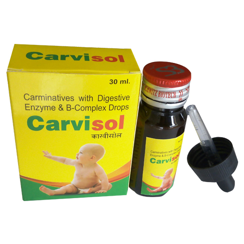 Carminative Mixture With Digestive Enzymes & Vitamin B-Complex