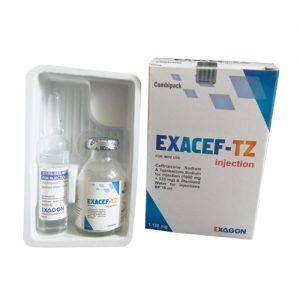 Ceftriaxone Sodium 1000 Mg Tazobactam Sodium 125 Mg