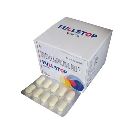 Paracetamol 500 Mg + Nimesulide 100 Mg Tablets