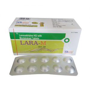 Levocetirizine 5 Mg + Montelukast 10 Mg Tablets