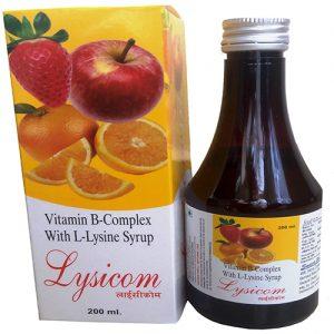 Vitamin B-Complex With L-Lysine Syrup