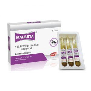 Alpha Beta Arteether 150 Mg 2 Ml Injection