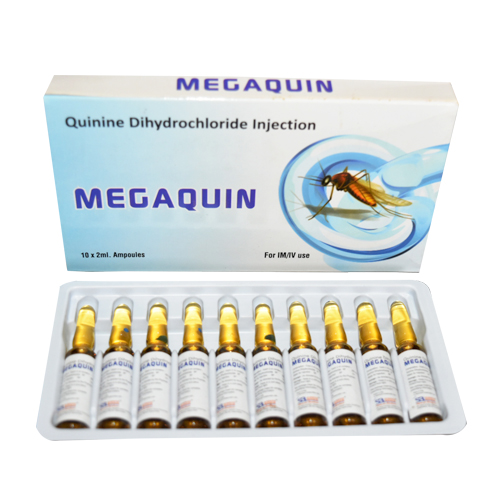 Quinine Dihydrochloride Injection Bp 600mg/2ml