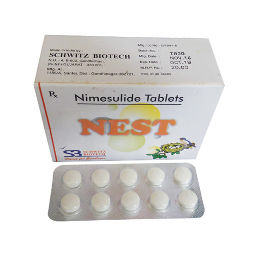 Nimesulide Tablets 100mg