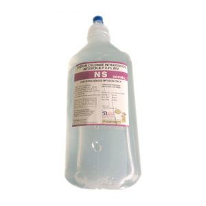 Sodium Chloride Injection 0.9 W/V