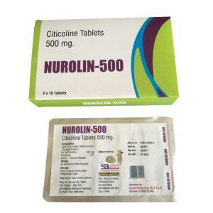 Citicoline Tablet 500 Mg