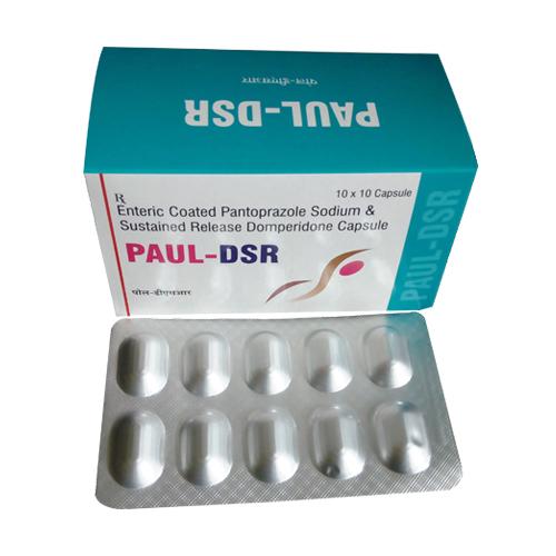 Pantoprazole 40 Mg + Domperidone 30 Mg Capsules