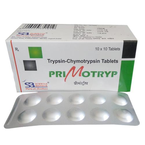 Trypsin-Chymotrypsin Tablets