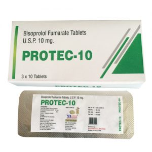 Bisoprolol Fumarate Tablets Usp 10mg