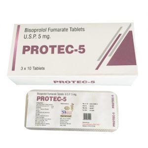 Bisoprolol Fumarate Tablets Usp 5mg