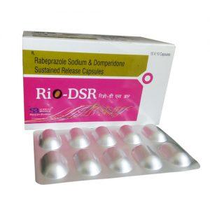 Rabeprazole 20 Mg + Domperidone 30 Mg Capsules