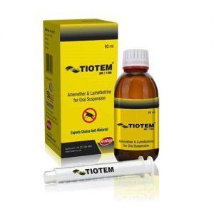 Artemether 20mg Lumefantrine 120mg Oral Suspension